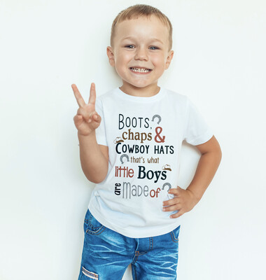 Boots Chaps And CowBoy Hats T-Shirt
