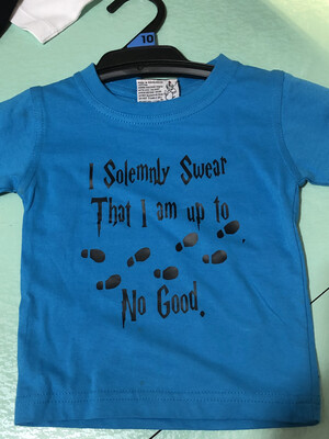 I Solemnly Swear Harry Potter Baby Romper