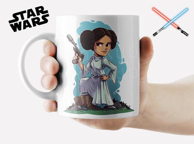 Princess Leia Coffee mug