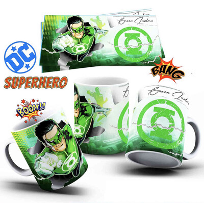 The Green Lantern Coffee mug