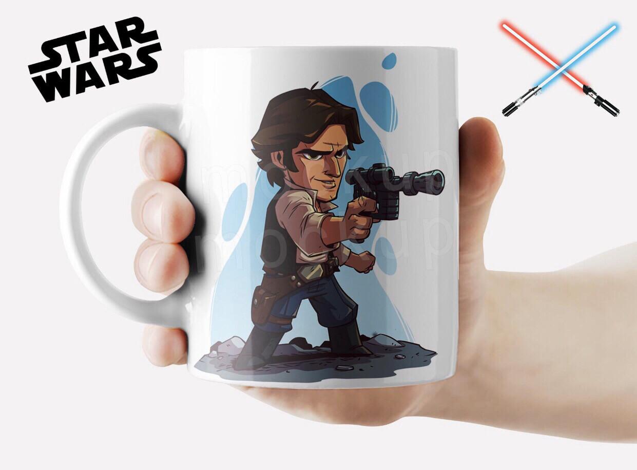 Hann solo coffee mug