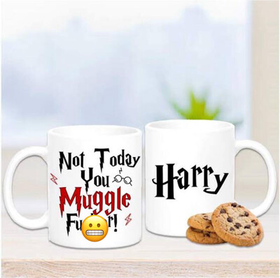 Personalised Harry Potter Mug - Rude