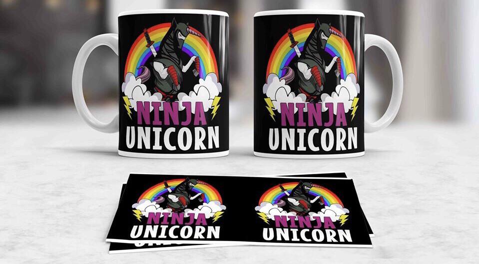 Ninja Unicorn Coffee mug