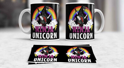 Ninja Unicorn Coffee mug
