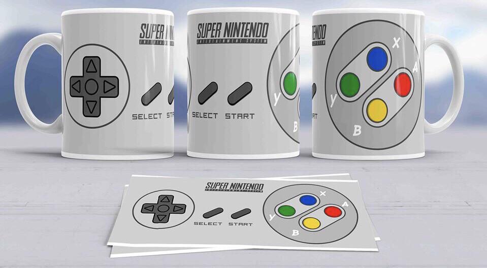 Super Nintendo Coffee mug