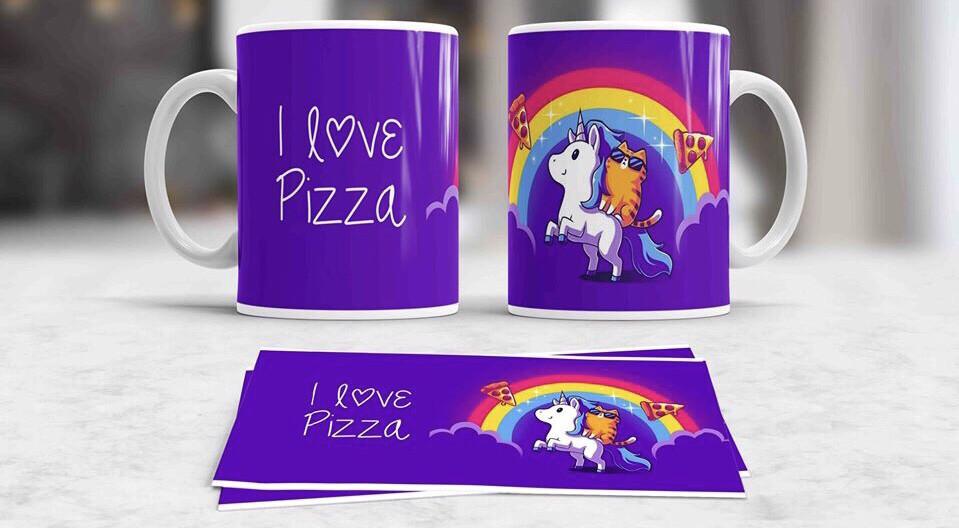 Pizza Unicorn Coffee mug