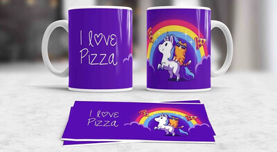 Pizza Unicorn Coffee mug