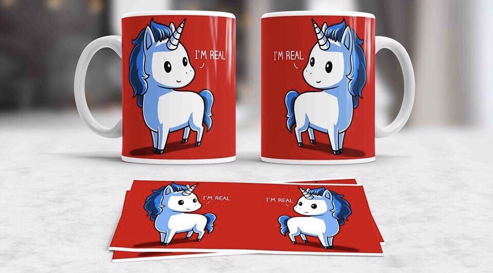 I'm Real Unicorn Coffee mug