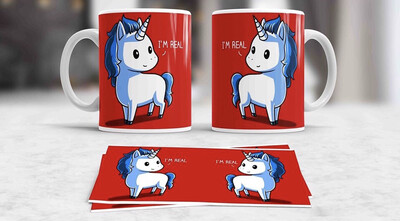 I'm Real Unicorn Coffee mug