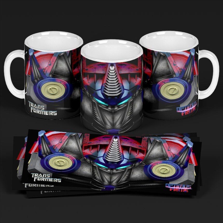 3D Optimus Prime Coffee mug
