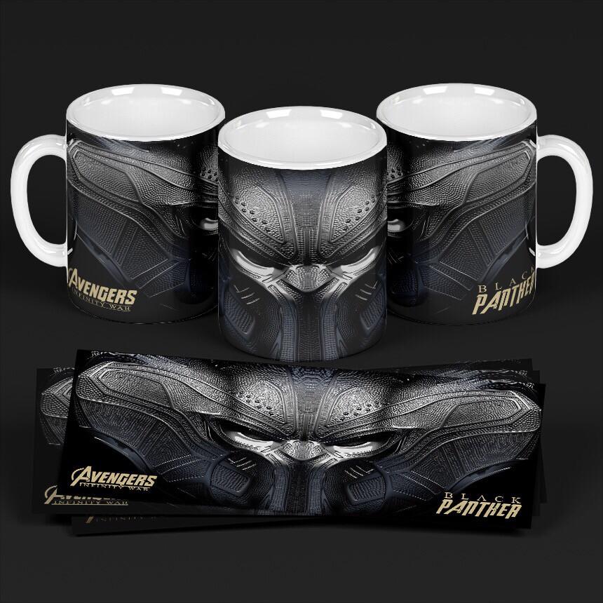 3D Black Panther Coffee mug