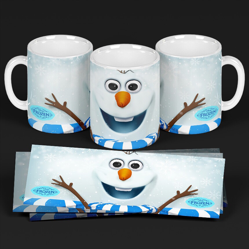 3D Olaf Coffee mug