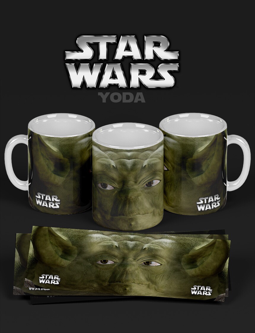 3D Yoda Coffee mug