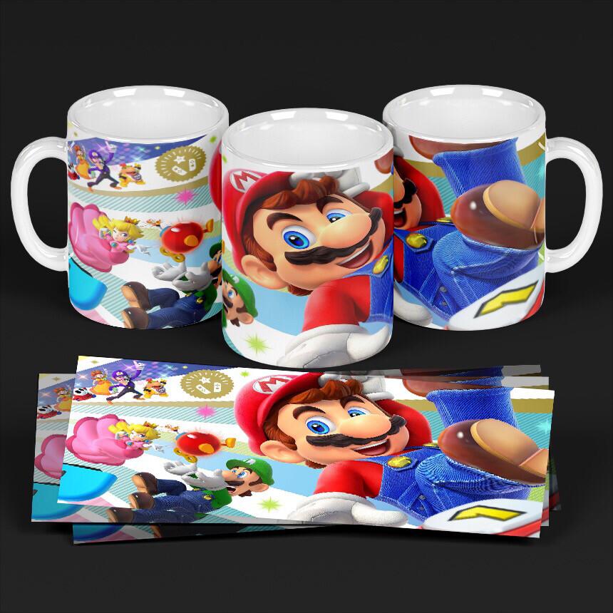 3D Super Mario mug