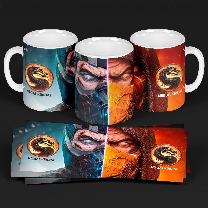 3D Mortal Combat Coffee mug