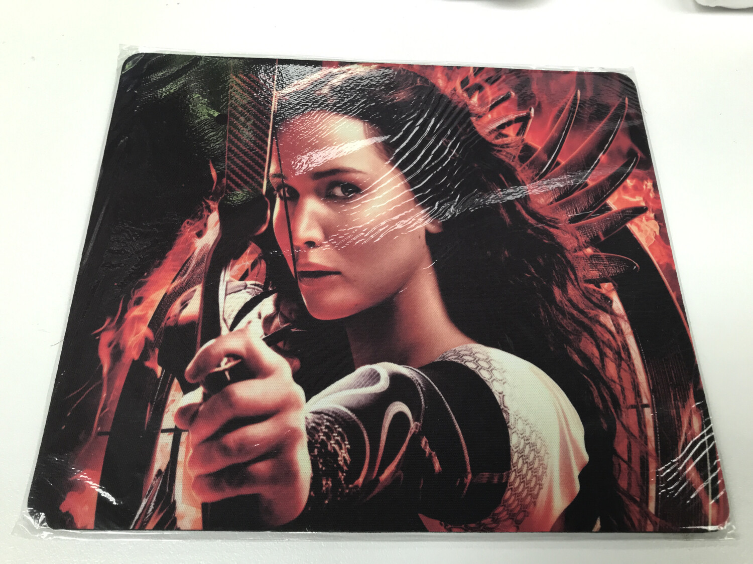 Girl On Fire - Hunger Games Mouse Pad