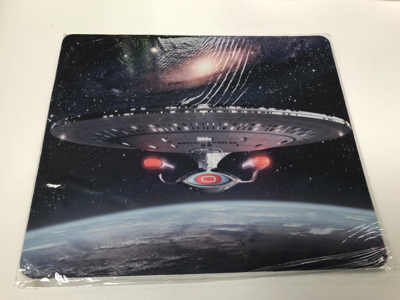 Star Trek Enterprise Mouse Pad
