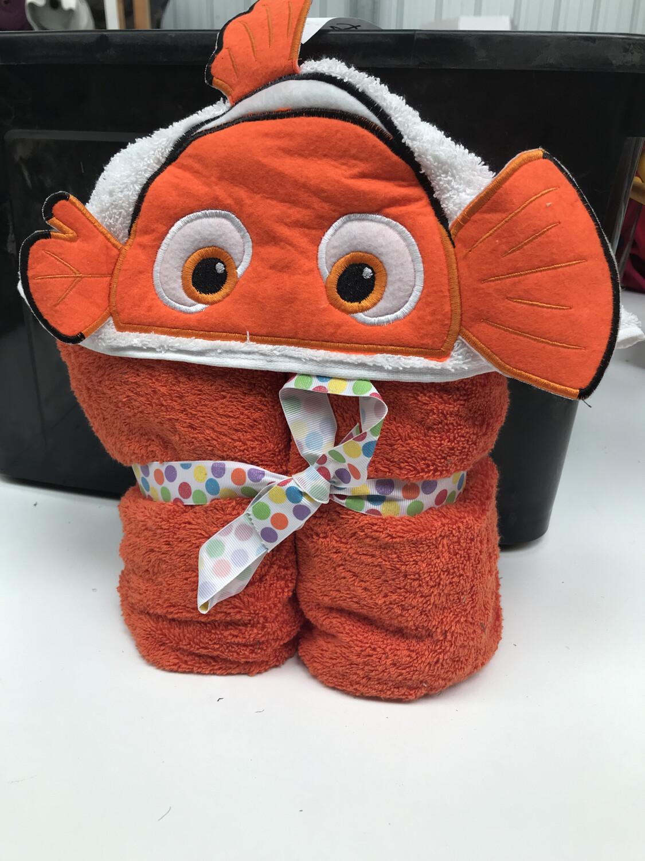 Nemo 3D Hooded Towel