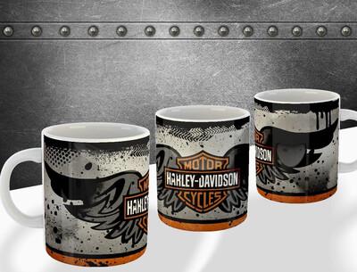 Harley Davidson oil mug