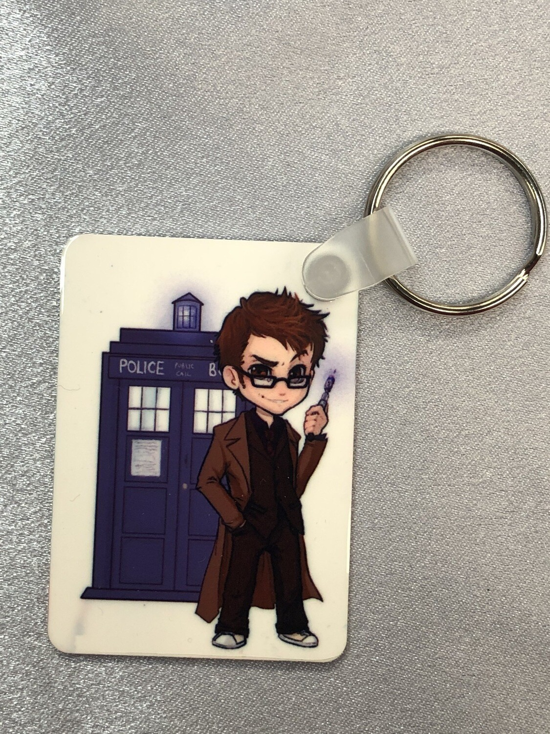 Dr Who Key Ring