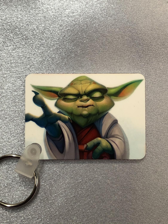 Yoda keyring