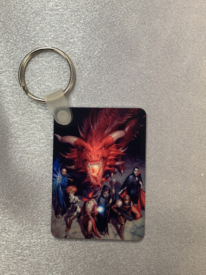 Dungeons And Dragons keyring