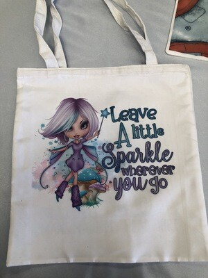 Leave A Little Sparkle Tote Bag