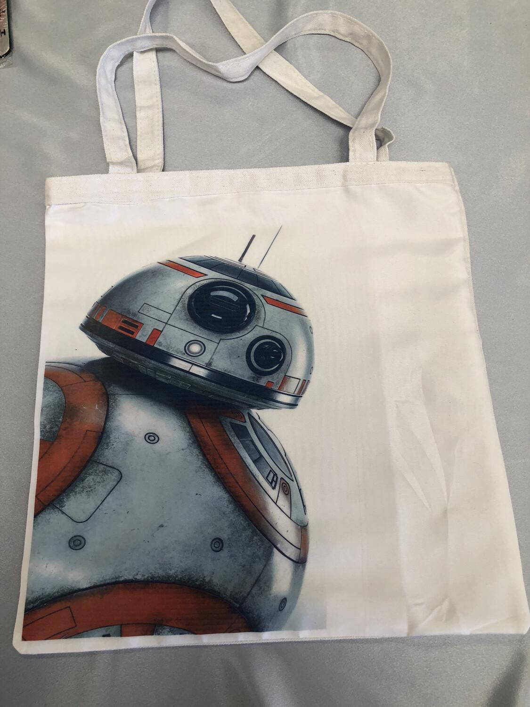 BB8 Star Wars  Tote Bag