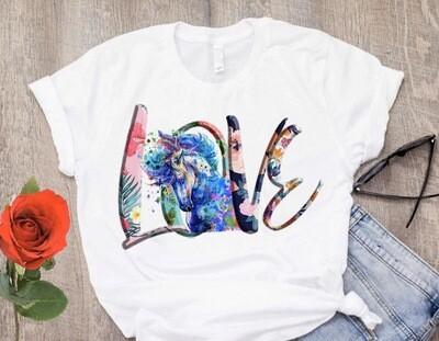 Love horse T Shirt