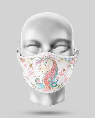 White Unicorn Mask
