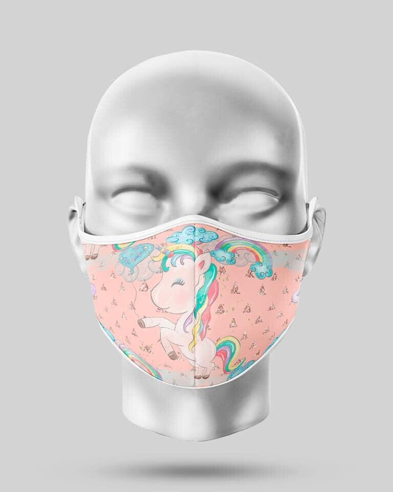 Pink Unicorn Mask