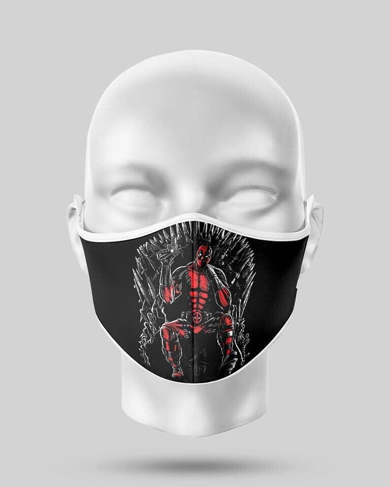 Deadpool On Throne Mask