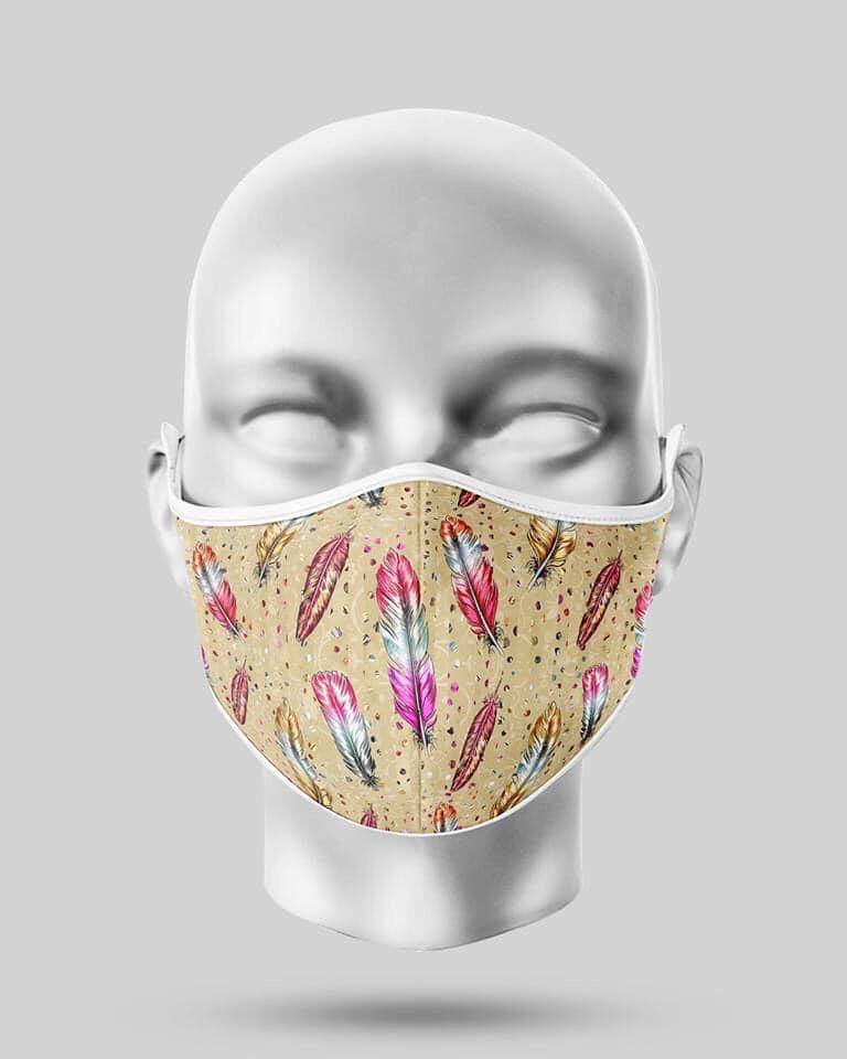 Feathers Mask