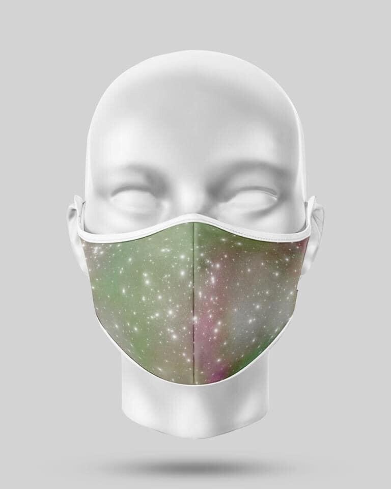 Green Galaxy Mask