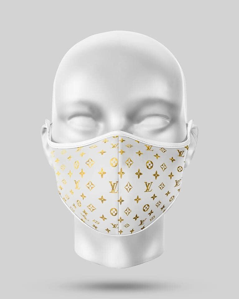 White Gold LV Mask