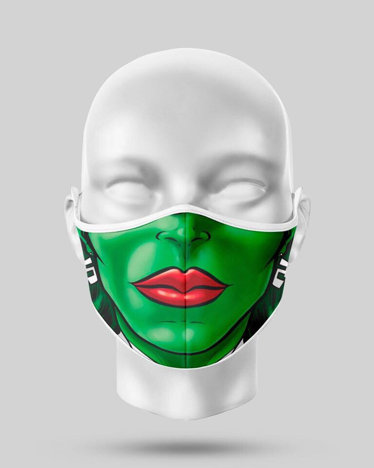Green Guardian Hero Mask