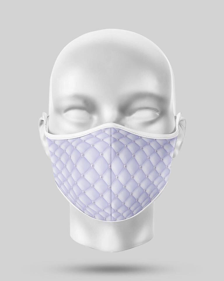Purple Pearl Mask