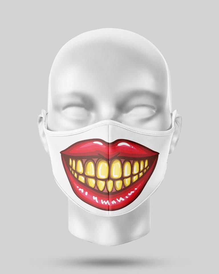 Gold Teeth Mask
