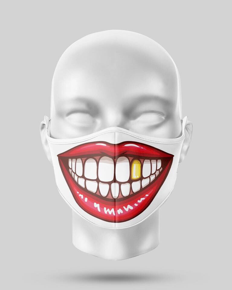 Gold Tooth Mask