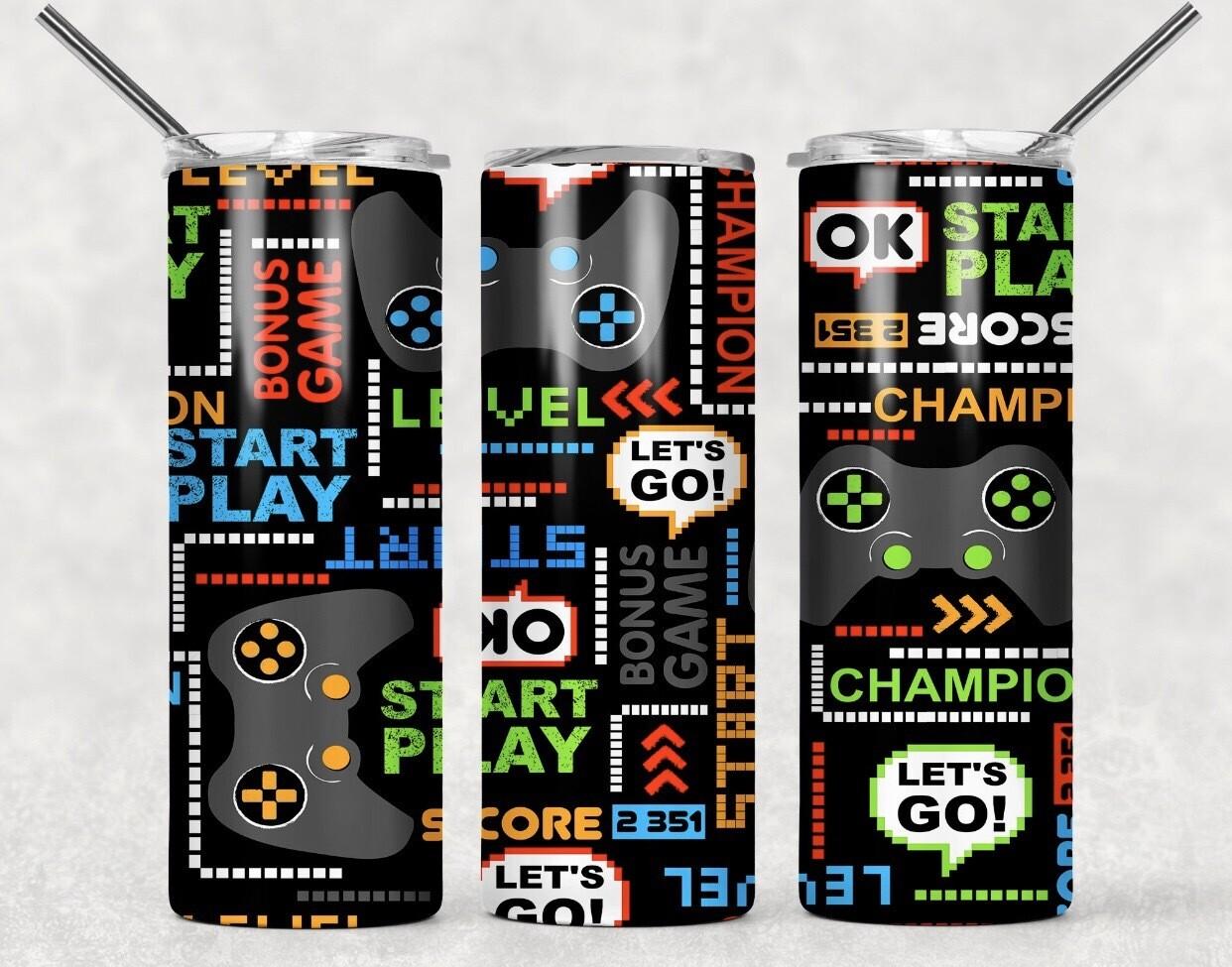 Retro Gaming Tumbler