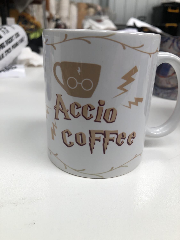 Accio coffee - Harry Potter