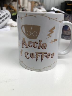Accio coffee - Harry Potter