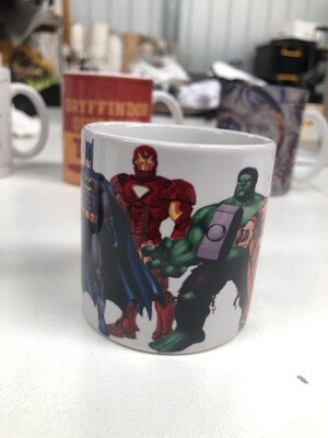 Kids 6oz Superhero's Ceramic Mug