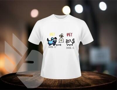Among Us Pets shirts