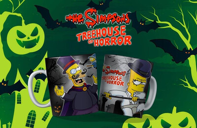 Homer And Bart Simpson Treehouse Of Horrors