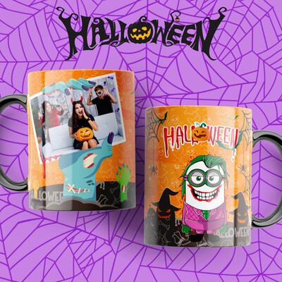Minions Personalised Halloween Mug