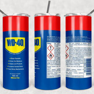 WD40 Can Tumbler