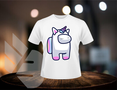 Among Us Unicorn shirts
