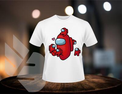 Among Us Mini Me shirts