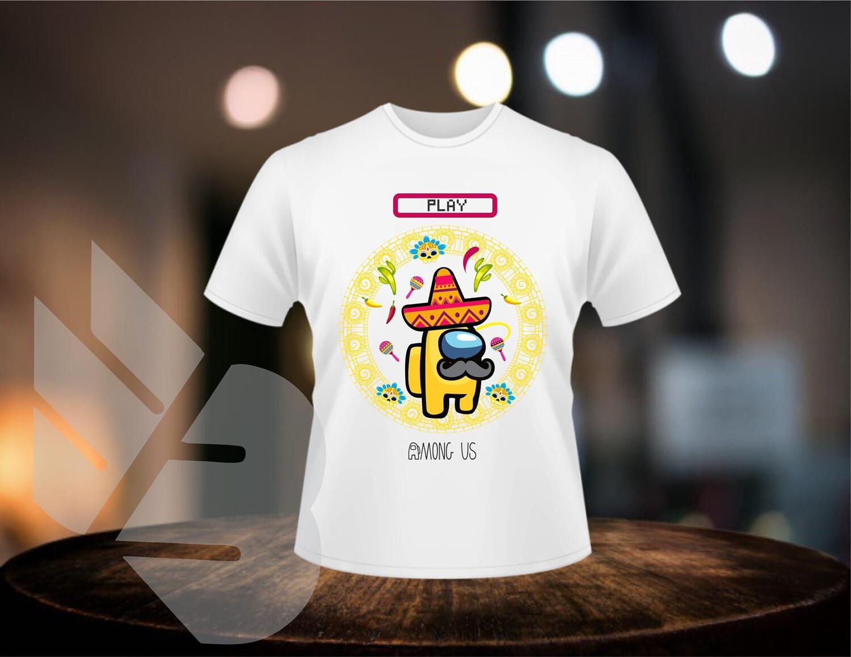 Among Us Mexican shirts